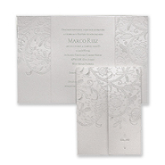 Lace and Grace - Baptism Invitation